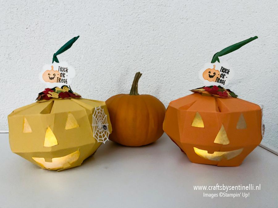 Spooky Halloween Pompoen maken